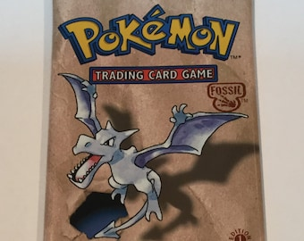 Pokemon Trading Card Game - Fossil Set 1st Edition - New & Sealed Booster Pack