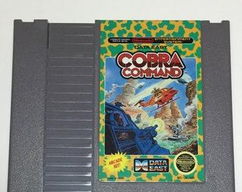 Cobra Command - Nintendo NES - Original Game Cart - Tested & Working