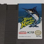 The Blue Marlin - Nintendo NES - Original Game Cart - Tested & Working