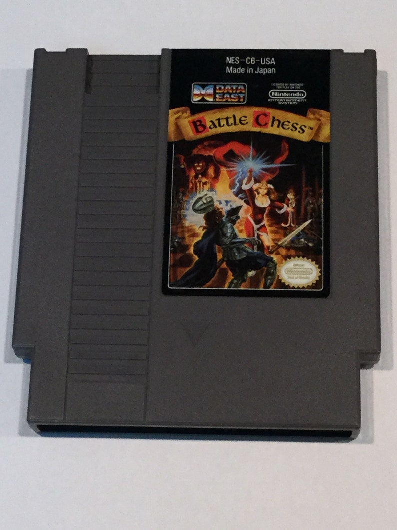 Battle Chess  Nintendo NES  Original Game Cart  Tested & image 0