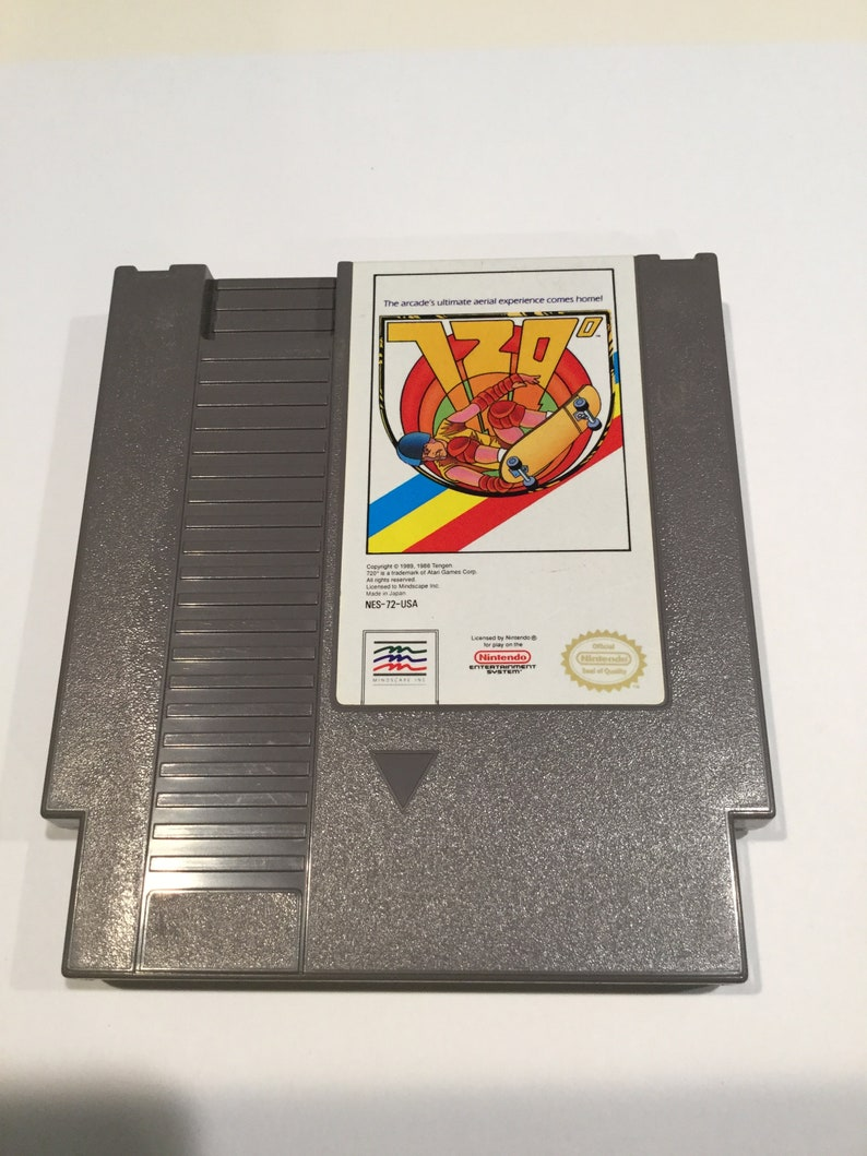 720 Degrees  Nintendo NES  Original Game Cart  Tested & image 0