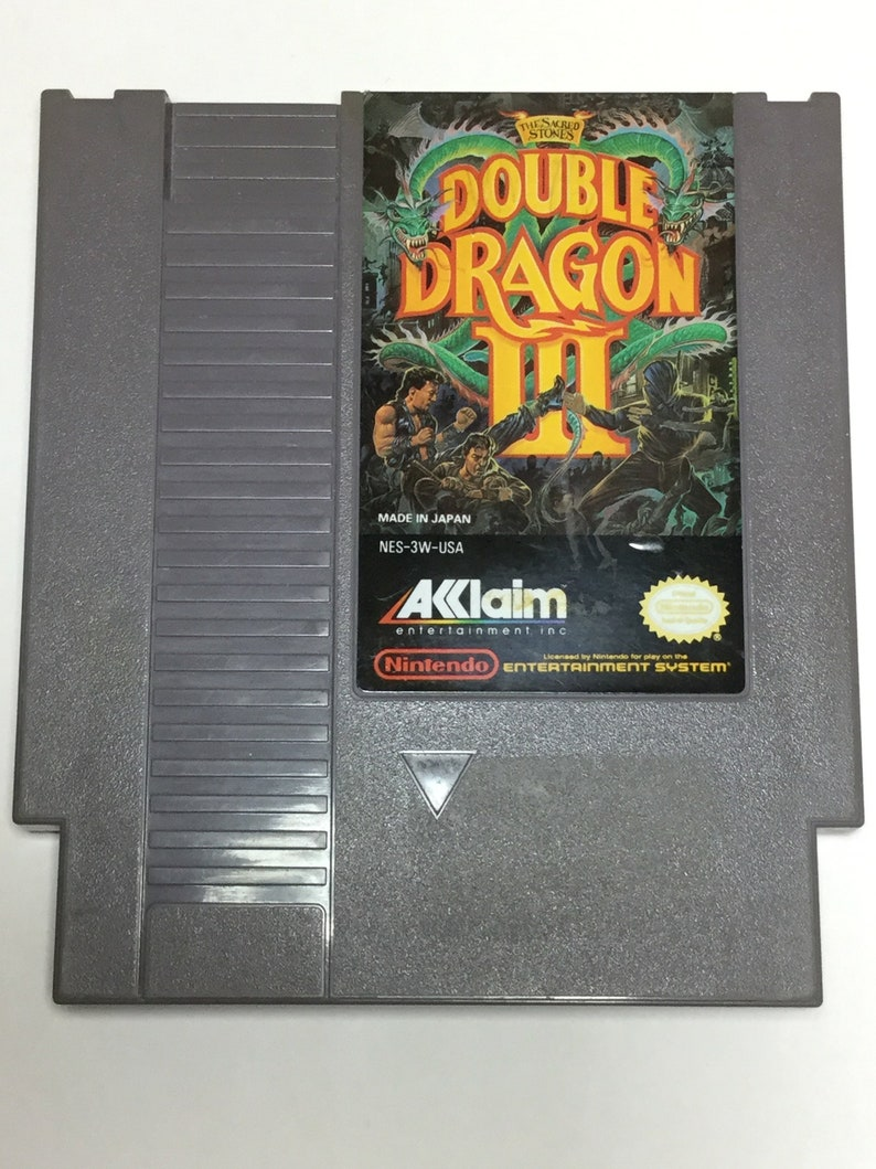 Double Dragon III: The Sacred Stones  Nintendo NES  Original image 0