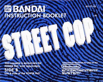 Street Cop - Nintendo NES - Original Manual Only - Authentic - Instruction Booklet