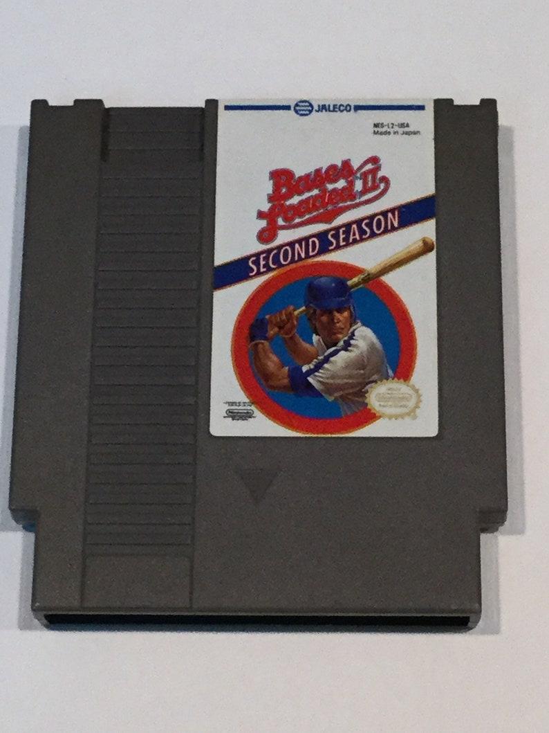 Bases Loaded II: Second Season  Nintendo NES  Original Game image 0