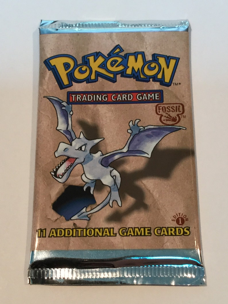 Pokemon Trading Card Game  Fossil Set 1st Edition  New & image 0