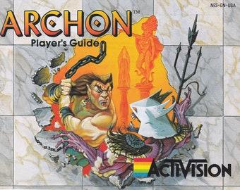Archon - Nintendo NES - Original Manual ONLY - Authentic - Instruction Booklet