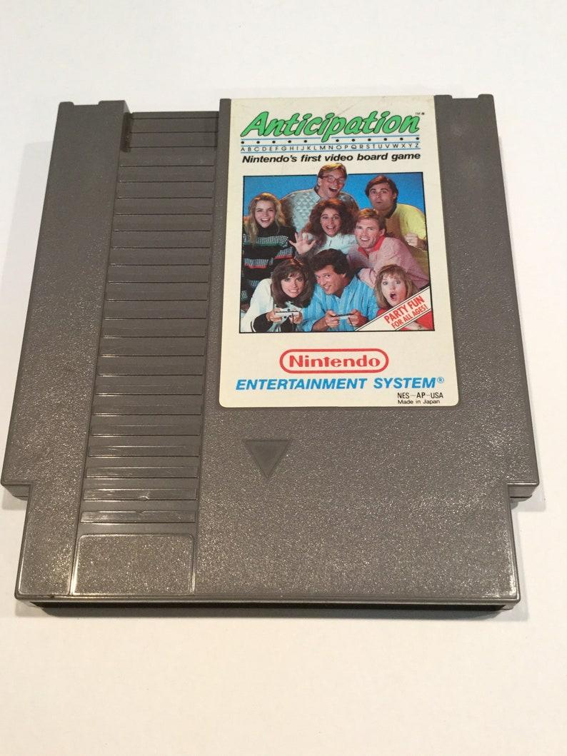 Anticipation  Nintendo NES  Original Game Cart  Tested & image 0