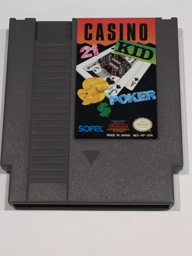 Casino Kid  Nintendo NES  Original Game Cart  Tested & image 0