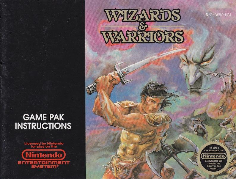 Wizards and Warriors  Nintendo NES  Authentic Original image 0