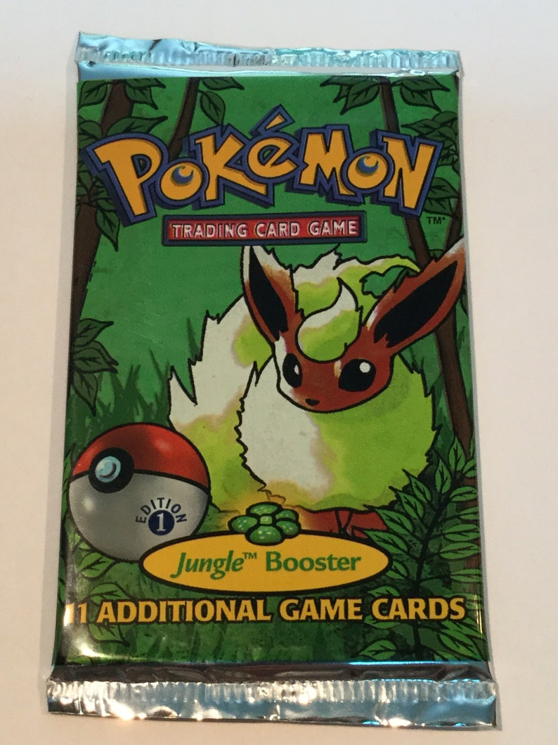 Pokemon Trading Card Game  Jungle Set 1st Edition  New & image 0