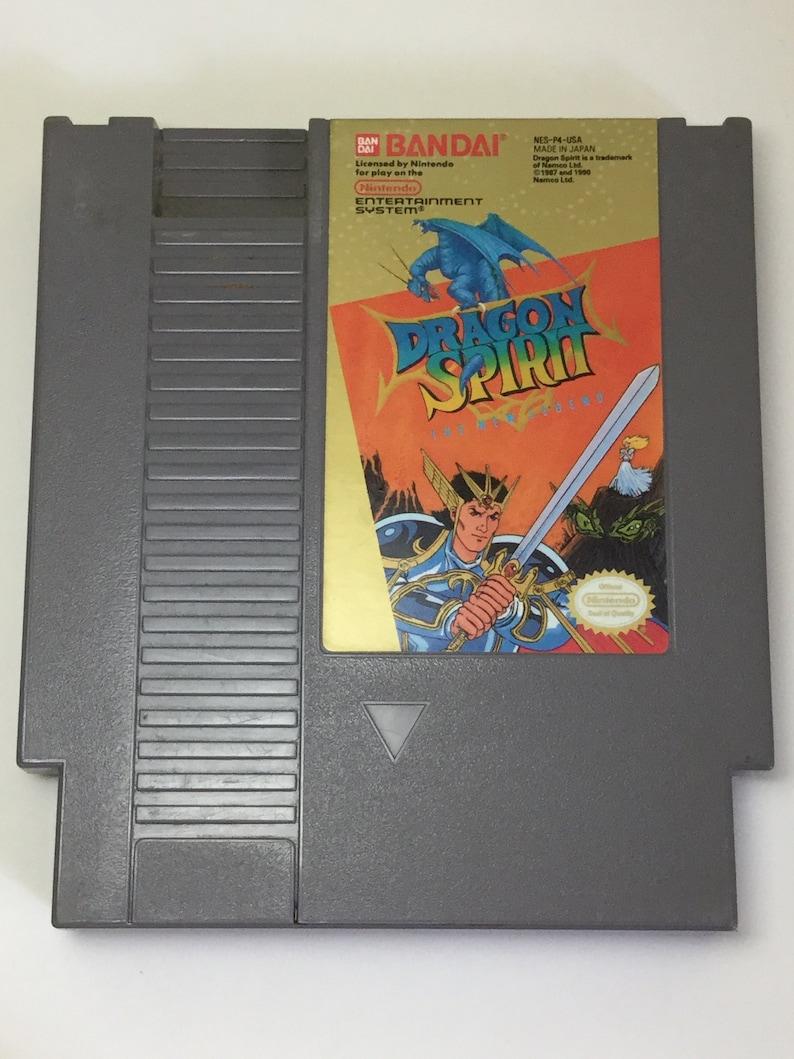 Dragon Spirit: The New Legend  Nintendo NES  Original Game image 0