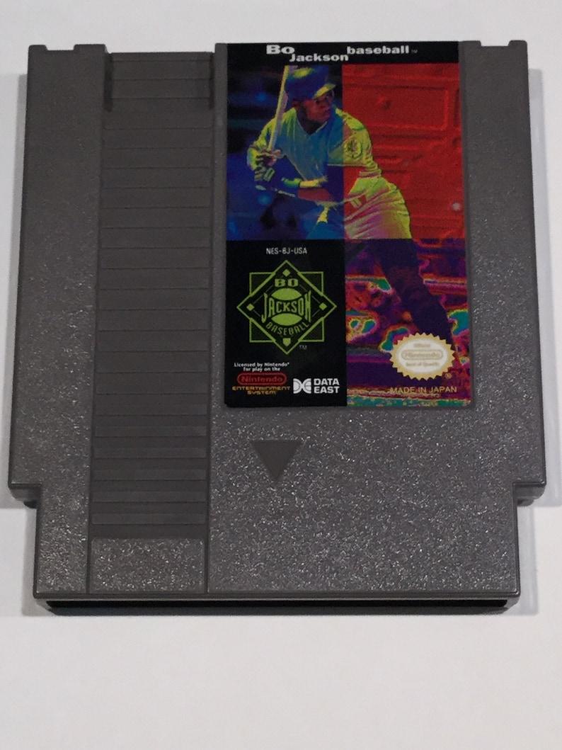 Bo Jackson Baseball  Nintendo NES  Original Game Cart  image 0