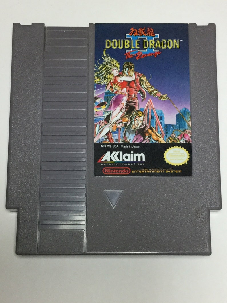 Double Dragon II: The Revenge  Nintendo NES  Original Game image 0