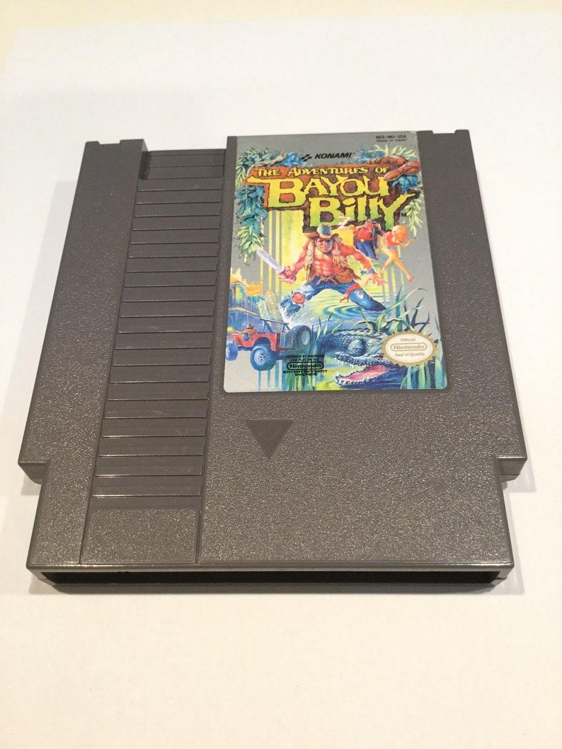 Adventures of Bayou Billy  Nintendo NES  Original Game Cart image 0