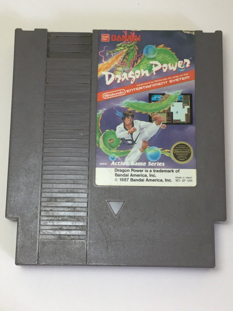 Dragon Power  Nintendo NES  Original Game Cart  Cleaned & image 0