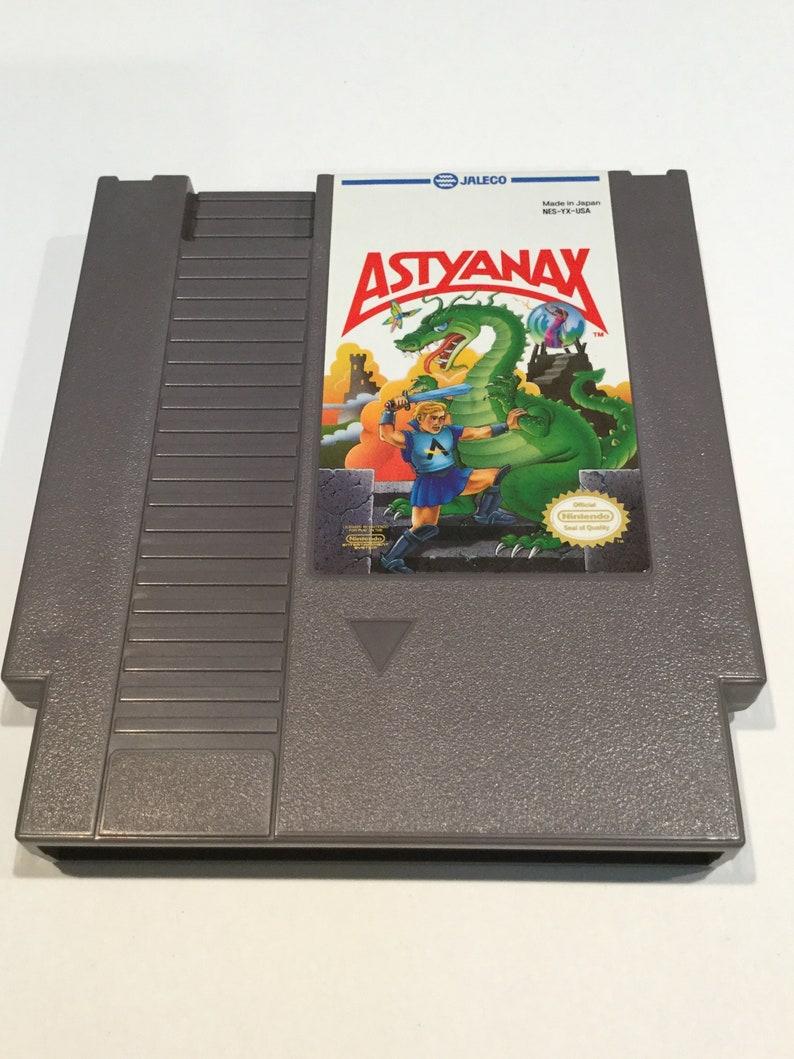 Astyanax  Nintendo NES  Original Game Cart  Tested & image 0