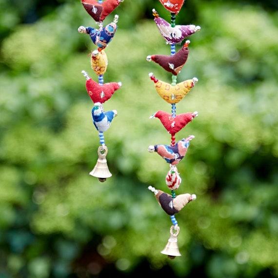 20-Bird Bell Tota Traditional Indian Hanging Decoration