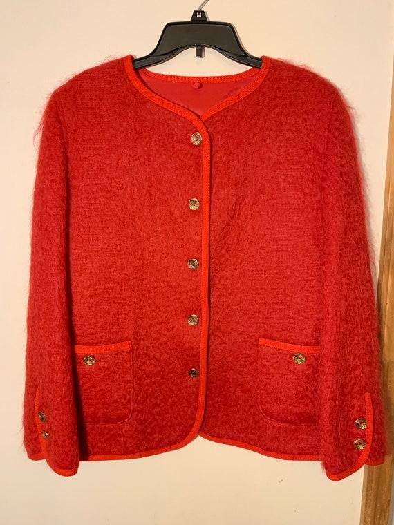 Vintage Mohair Scotch House coat