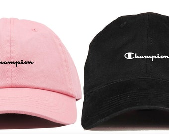 431a6a3a Champion dad baseball cap Hype hip hop streetwear