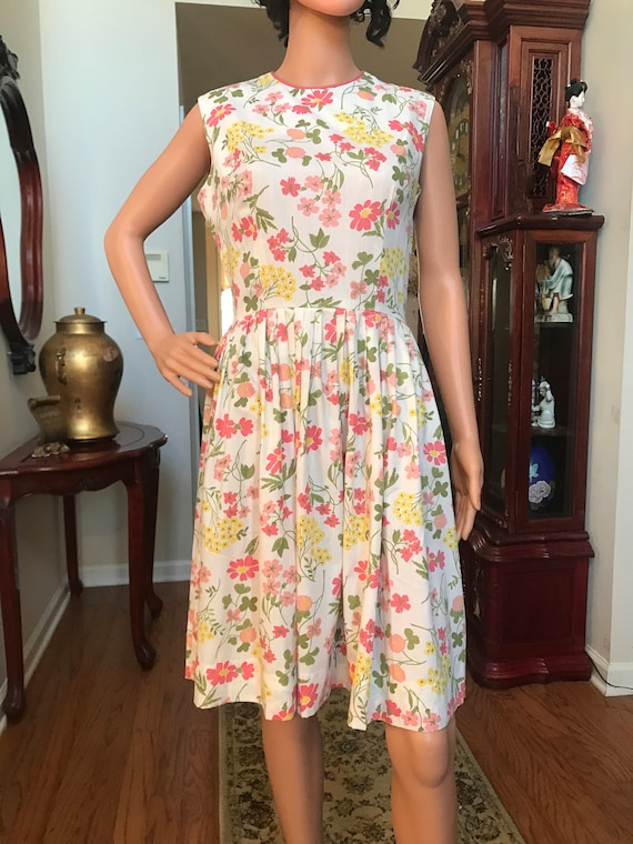 1960's Stacy Ames floral sundress - image 5