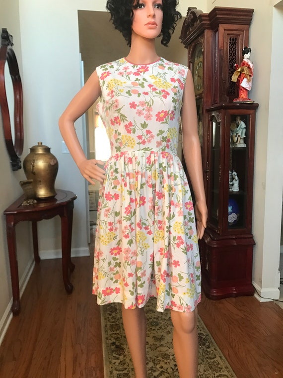 1960's Stacy Ames floral sundress - image 6