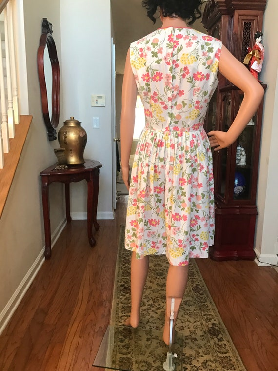 1960's Stacy Ames floral sundress - image 1