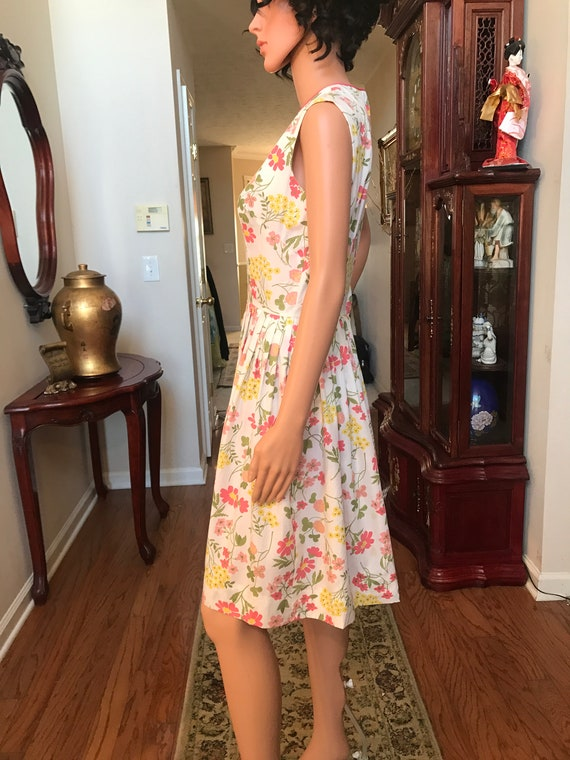 1960's Stacy Ames floral sundress - image 3