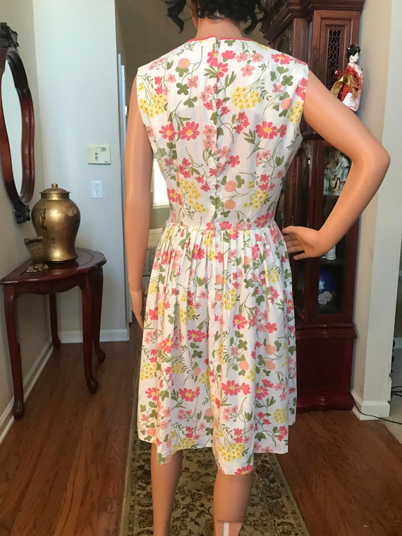 1960's Stacy Ames floral sundress - image 2