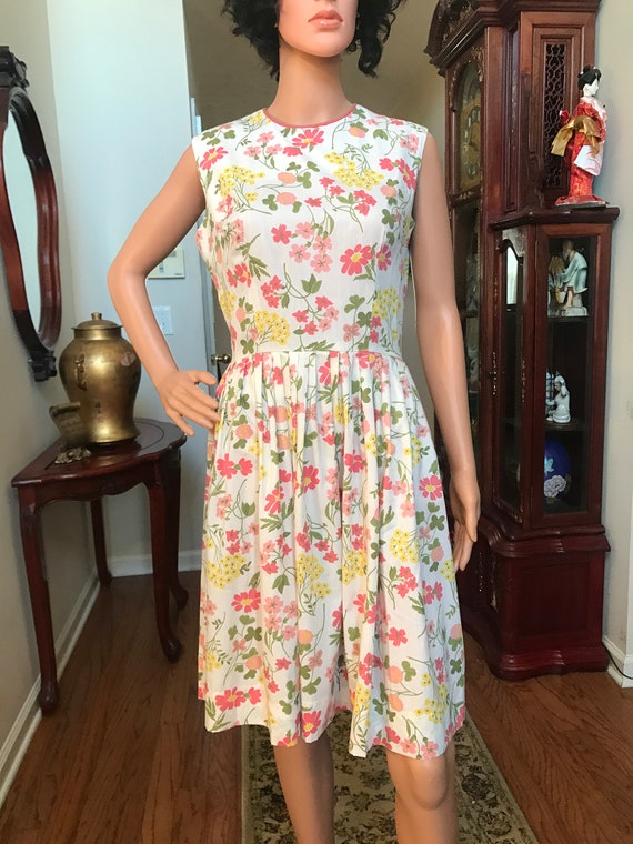 1960's Stacy Ames floral sundress - image 7