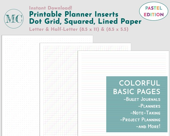 It's just an image of Bullet Journal Paper Printable pertaining to stencil