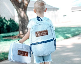 Personalised Mini Toddler Kids Childs Back Pack Girls /& Boys Back To School Bag