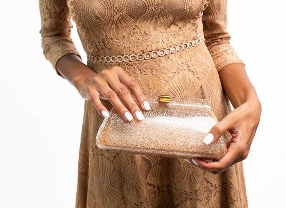 vintage purse glitter purse glitter clutch sparkle