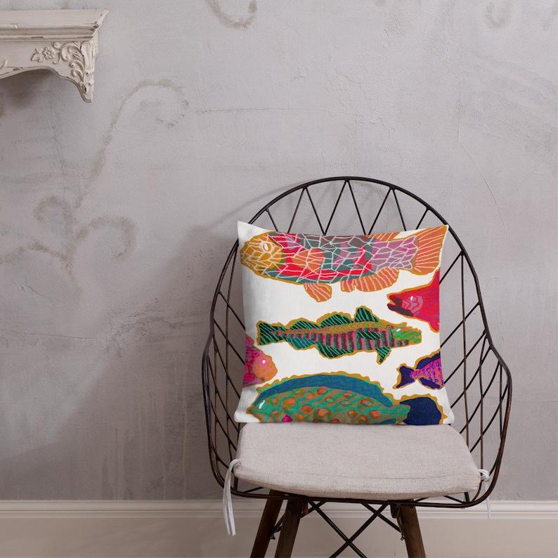 MATTISELIKE FISH PILLOWS / Home decor / Fish Pillow / Premium image 0