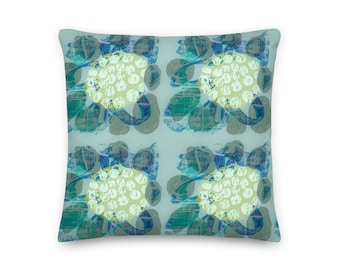 MAGNOLIA THROW TOWEL / Modern home / Cottage decor / Housewarming gift / Cottage decor / Custom pillow