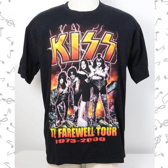Kiss Farewell Tour Original Concert TShirt 2000