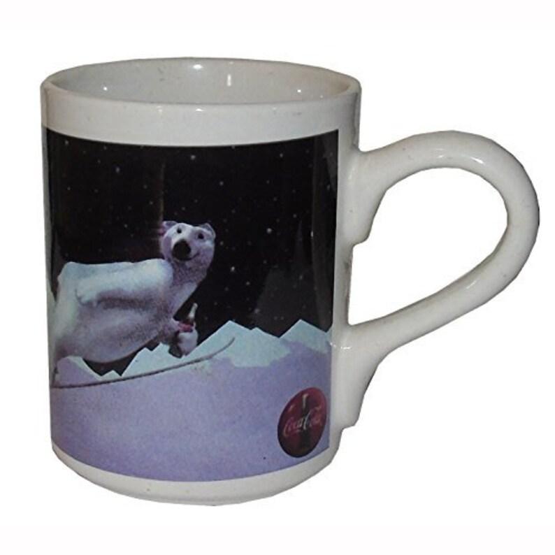 Coca Cola Ski Jumping polar bear Coffee Mug