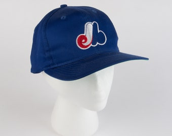 40e680c622b Vintage Montreal Expos MLB snapback