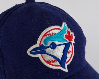 reputable site 9e2b9 a3bd5 ... vintage toronto blue jays mlb sports specialties fitted baseball cap  size 7 3 8