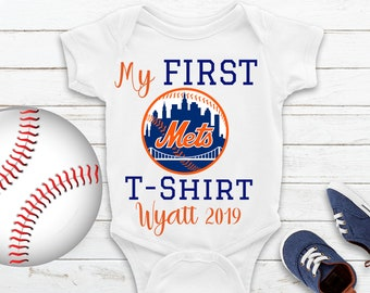 new arrival 3fc5d dee8e Ny mets baby gift | Etsy