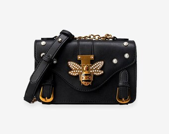 76f1a5032 Gucci Style Honeybee Shoulder Bag