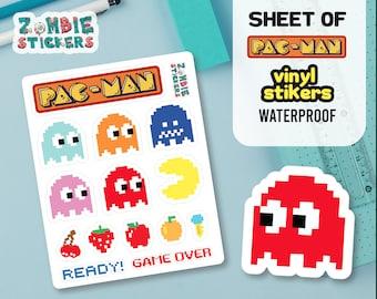 Arcade stickers | Etsy