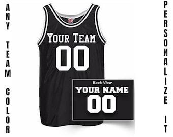 huge discount a970e 0e8e5 Basketball jersey | Etsy