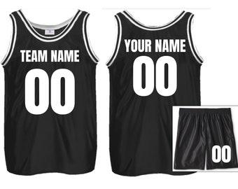 uk availability bebb9 e199c Custom basketball jersey | Etsy