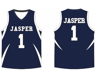 001204fc3 Custom Basketball Jersey, Personalized Team Name and Number, Customized V  Neck Jersey, Custom front and back name numbers