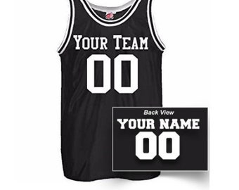 dfbf582520b Custom Basketball Jersey, Personalized Team Name and Number, Customized  Jersey with custom front and back name numbers