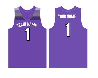 d8ed76bd73b Custom Basketball Jersey, Customized Youth Jersey with name numbers,  Personalized V Neck Basketball Jersey