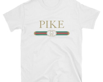 602f3405c1c97 Pike Gucci Parody Fraternity Unisex T-Shirt College Tee