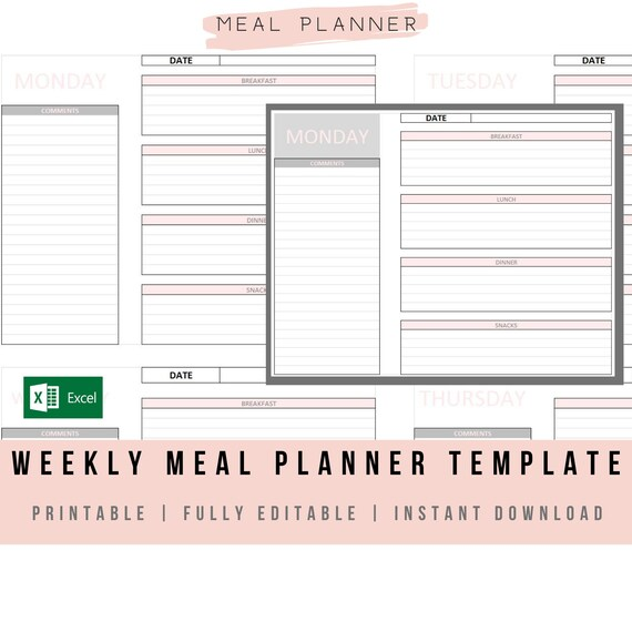 Monthly Meal Planner Template Excel from i.etsystatic.com