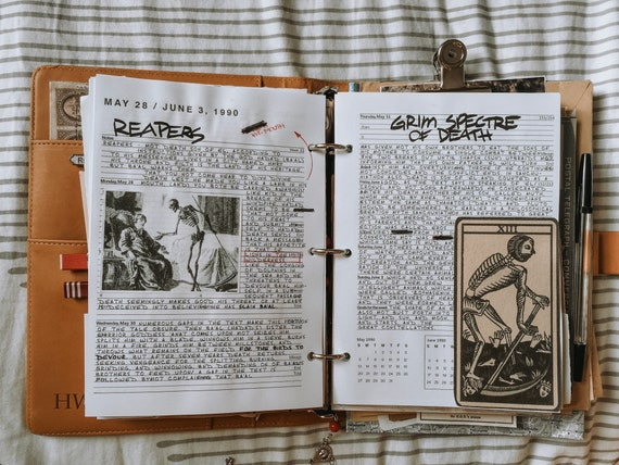 This is an image of John Winchester Journal Pages Printable within wendigo