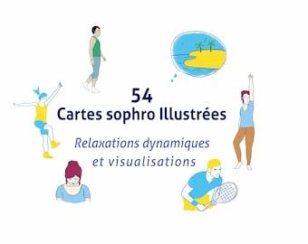 SOPHROLOGIE - 54 cartes : RD et VISUALISATIONS - Numérique
